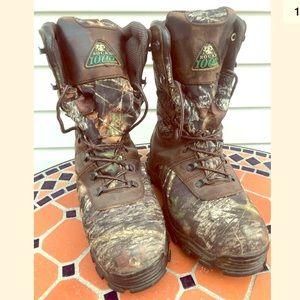 Rocky 1000 gram THINSULATE camo hunting boots 11